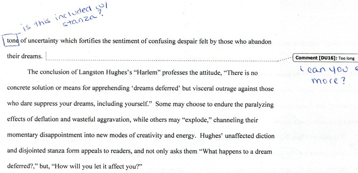 langston hughes a dream deferred essay Download thesis statement on a dream deferred in our database or order an original thesis paper that will be written by one of our staff writers and delivered.