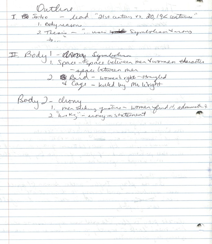 thesis statements for the play trifles Writing thesis statements academic essays ususally have a thesis statement, a one- or two-sentence summary of a paper's main point, usually found at the end of the introduction this page includes  the play trifles, by susan glaspell, takes place entirely in the kitchen of mrs wright's house.