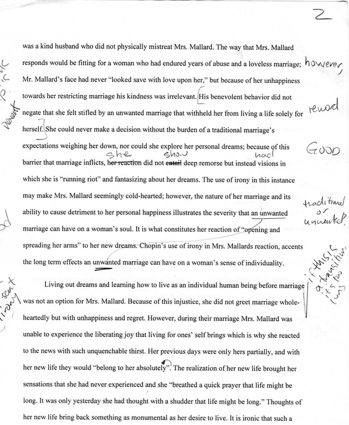 regret by kate chopin essay Short story analysis: regret by kate chopin i regret by kate chopin an outline on an essay about television thesis statement: television.